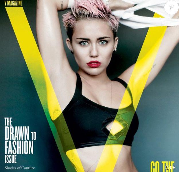 La jeune Miley Cyrus pose sur trois couvertures différentes pour V Magazine dans son édition de l'été 2013.