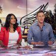 Ayem et Matthieu Delormeau sur le plateau des Anges de la télé-réalité 5, le mag en mars 2013
