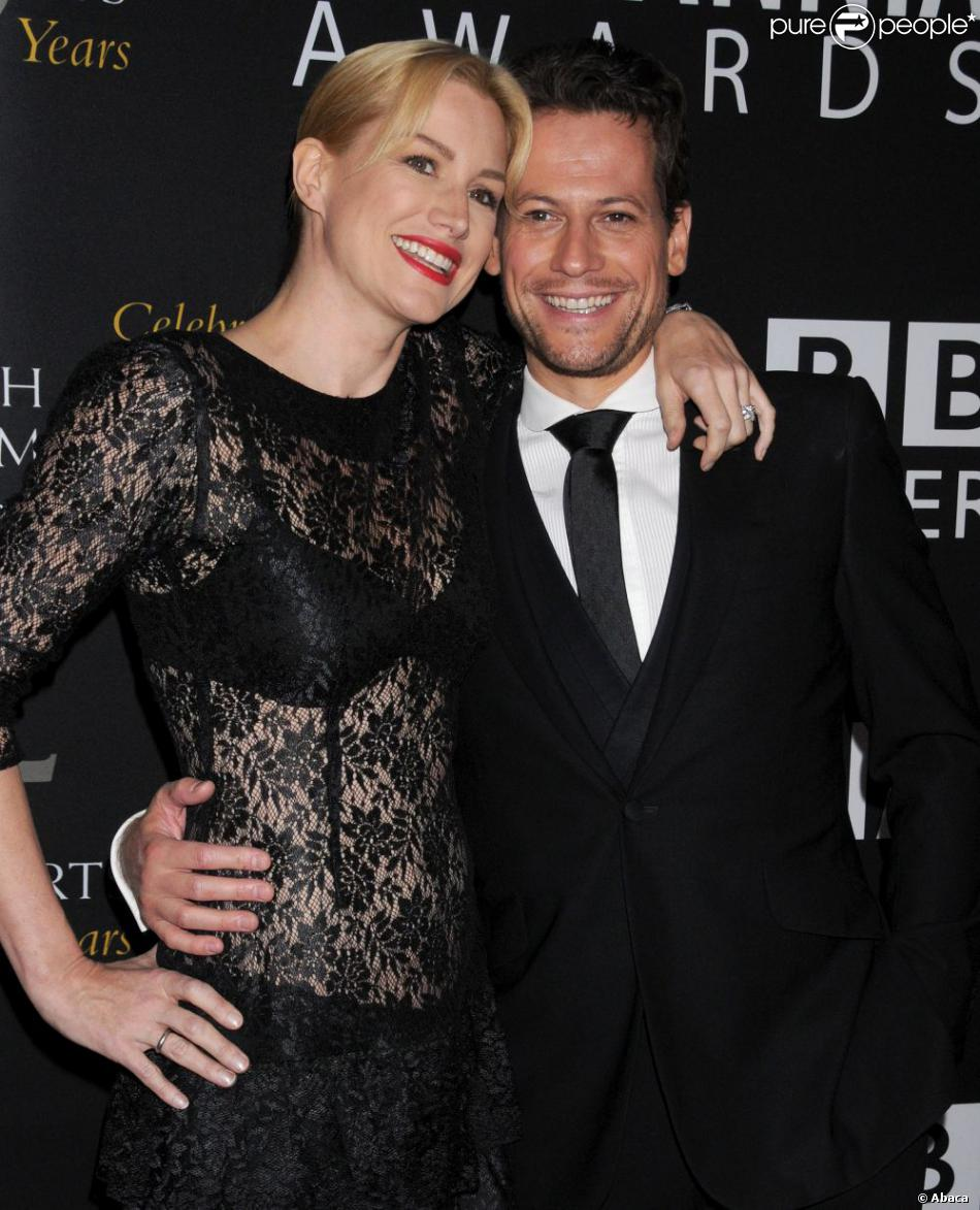 Ioan Gruffudd et Alice Evans à Los Angeles le 7 novembre 2012.