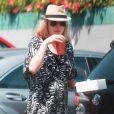 La comédienne Malin Akerman qui a accouché il y a un mois à peine, se fait discrète dans les rues de Los Angeles le 3 mai 2013   Photo exclusive