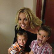 Britney Spears : Fête des mères espiègle et complice avec ses deux amours