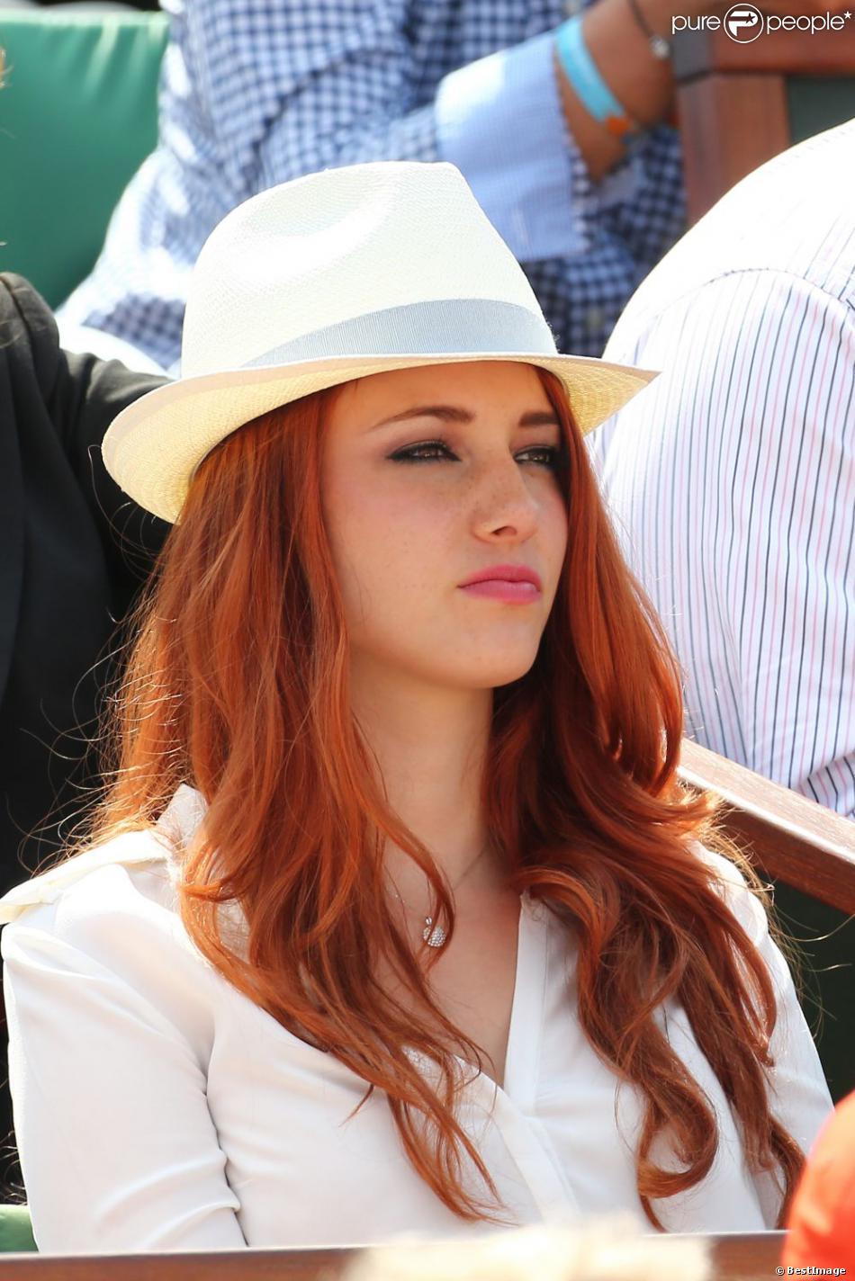 Delphine Wespiser en mai 2012 à Roland-Garros