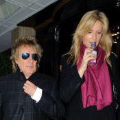 Rod Stewart : Séparée temporairement de Penny Lancaster, il chante sa peine...