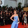 Lorie lors de la montée des marches pour l'ouverture du Festival de Cannes et la projection du film Gatsby le Magnifique le 15 mai 2013