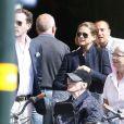 La princesse Madeleine de Suède et son fiancé Chris O'Neill à Stockholm le 16 mai 2013, à trois semaines de leur mariage.