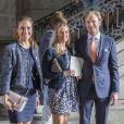 Louise Gottlieb, Philip Gottlieb lors de la publication des bans du mariage de la princesse Madeleine de Suède et Chris O'Neill le 19 mai 2013