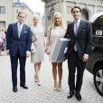 Louise Cronstedt, Jacob Cronstedt, Katarina von Horn et Robert von Horn lors de la publication des bans du mariage de la princesse Madeleine de Suède et Chris O'Neill le 19 mai 2013