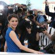 """Bérénice Bejo en Louis Vuitton, lors du photocall du film """"Le Passé"""" au 66e Festival International du Film de Cannes le 17 mai 2013"""