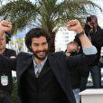 """Tahar Rahim lors du photocall du film """"Le Passé"""" au 66e Festival International du Film de Cannes le 17 mai 2013"""