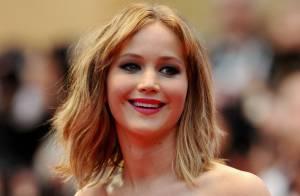 Cannes 2013 : Jennifer Lawrence lumineuse pour Liam Hemsworth, sans Miley Cyrus