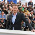 Garrett Hedlund lors du photocall du film Inside Llewyn Davis au Festival de Cannes le 19 mai 2013