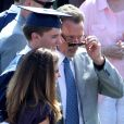 Exlcusif - Arnold Schwarzenegger et Maria Shriver à la remise de diplôme de leur fils Patrick à Los Angeles, le 1er juin 2012.