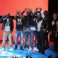La Sexion D'Assaut lors des Trace Urban Music Awards à Paris, le 14 mai 2013.