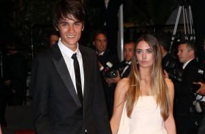 Cannes 2013 : Alain-Fabien Delon, un beau jeune homme fier avec sa petite amie