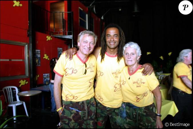 Exclusif laurent boyer yannick noah et sa maman marie claire le 28 mai 2005 au z nith de - Laurent boyer sa fille ...