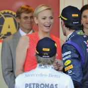 Charlene de Monaco : Rayonnante et amoureuse pour le triomphe de Nico Rosberg