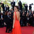 Ximena Navarrete pour la montée des marches de la clôture du Festival de Cannes le 26 mai 2013