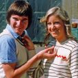 Chris Evert et Jimmy Connors au milieu des années 70