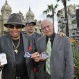 Exclu - Joe Jackson fait la promotion d'une carte de crédit Michael Jackson à Monaco, le 27 mai 2013.