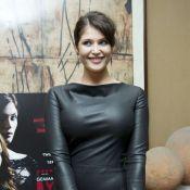 Gemma Arterton : Une bombe plantureuse et sexy en cuir pour ''Byzantium''