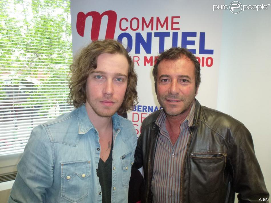 Julien dor invit de bernard montiel dans les studios de mfm pour une interview diffus e - Bernard montiel vie privee ...