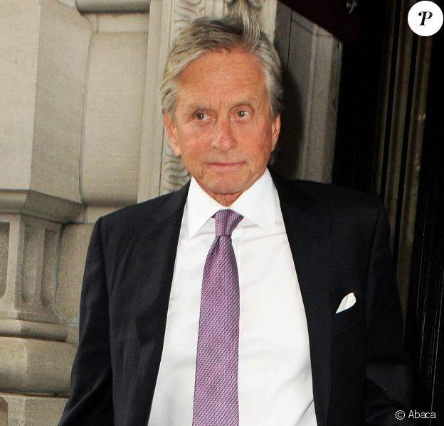 Michael Douglas à Manhattan (New York) le 3 juin 2013