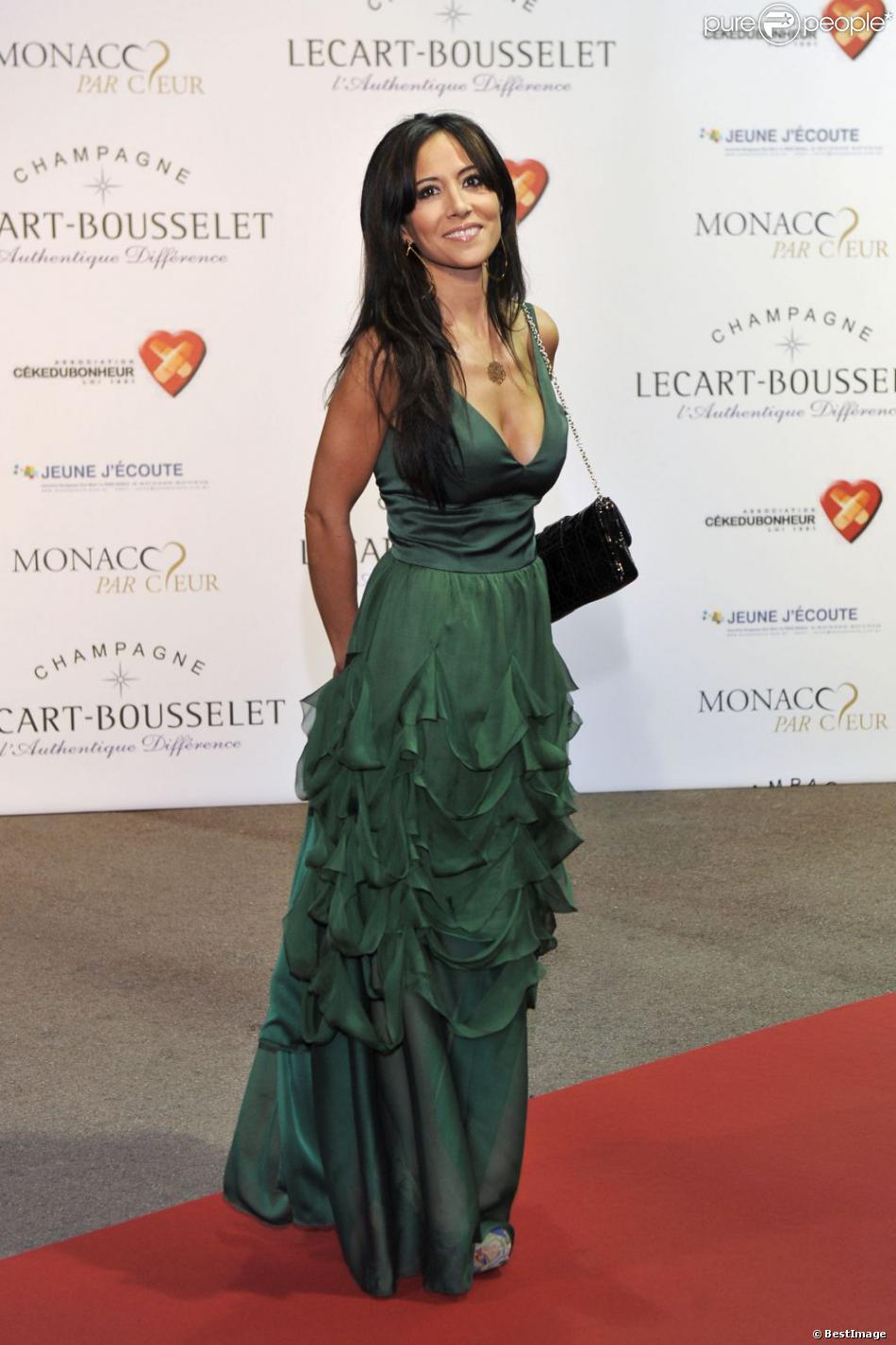 Fabienne Carat en septembre 2012 à Monaco
