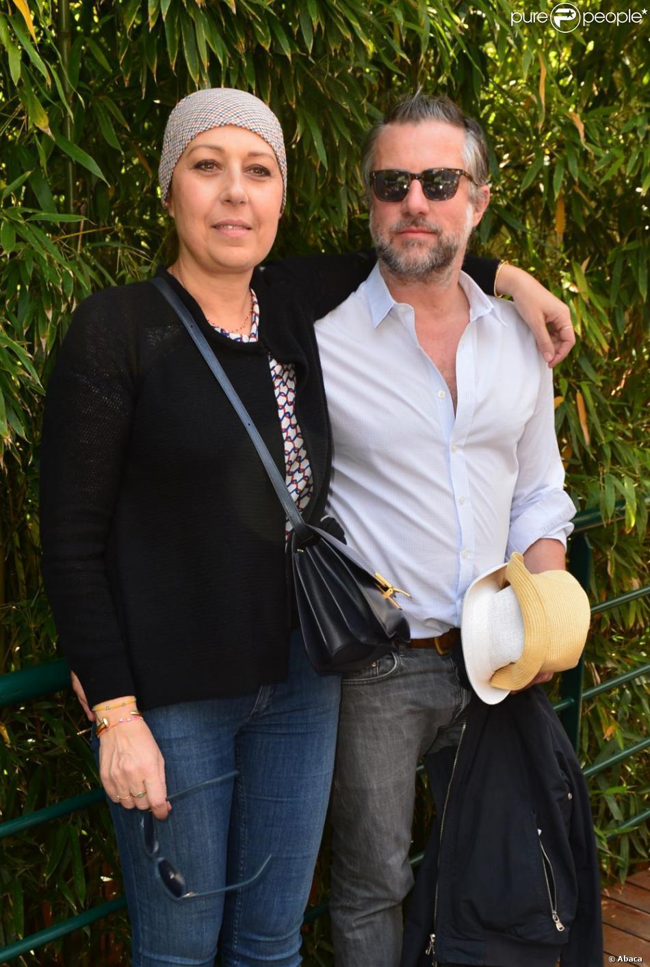 Valerie benguigui et son mari au village roland garros lors de la 11e journ e des internatinaux - Valerie damidot et son mari ...