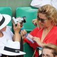 Vahina Giocante lors du onzième jour des Internationaux de France à Roland-Garros, le 5 juin 2013