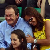 Roland-Garros : Jean-Pierre Pernaut et Nathalie Marquay unis devant Jade Foret