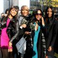 Les soeurs Trina, Traci, Toni et Towanda Braxton à New York, le 13 mars 2013.