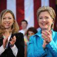 Hillary Clinton et sa fille Chelsea à Boca Raton, le 21 mai 2008.