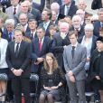 Les petits enfants de Pierre Mauroy lors de l'hommage de la Nation à Pierre Mauroy, le 11 juin 2013 aux Invalides à Paris