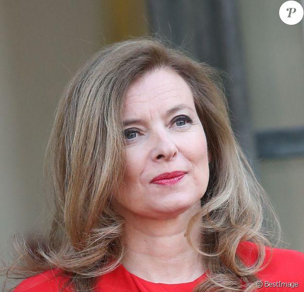 Valérie Trierweiler à Paris le 7 mai 2013.