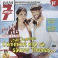 Joyce Jonathan et Laurent Kerusoré en couverture de Télé 7 jours du 22 au 28 juin 2013.