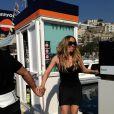La chanteuse Mariah Carey a posté des photos d'elle alors qu'elle était en Italie pour le tournage d'un nouveau clip. Le 17 juin 2013.