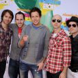 Simple Plan à Los Angeles, le 2 avri 2011.