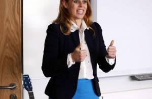 Princesse Beatrice d'York: Fan des jupes courtes, elle charme la Trinity Academy