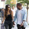 Kim Kardashian et Kanye West à New York, le 31 août 2012.