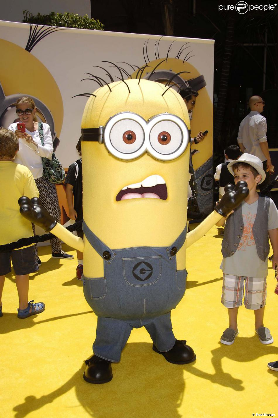 Un minion la premi re de moi moche et m chant 2 los angeles le 22 juin 2013 - Mechant minion ...