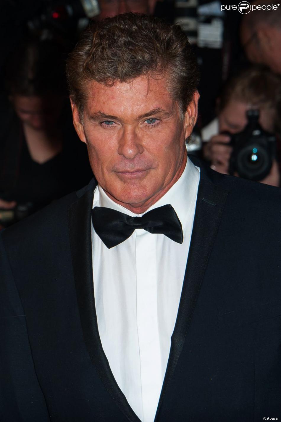David Hasselhoff à Cannes le 15 mai 2013.