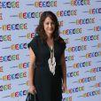 L'animatrice Daniela Lumbroso lors de la conférence de presse de rentrée de France Télévisions, le 28 août 2012 à Paris. Son émission Chabada sur France 3 est annulée et remplacée par Les chansons d'abord présentée par Natasha St-Pier.