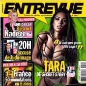 Secret Story 7 : Tara, ultrasexy et à moitié nue en couverture d'Entrevue...