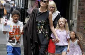 Heidi Klum : Ultrastylée et en famille, la superbe quadra irradie New York