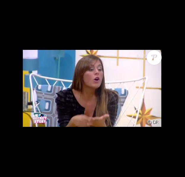 Le clan de Florine versus le clan d'Anaïs dans Secret Story 7, vendredi 5 juillet 2013 sur TF1