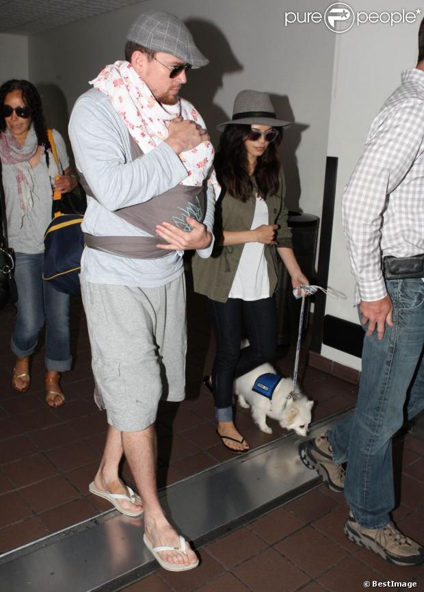 Jenna Dewan et Channing Tatum : Parents comblés, première ...