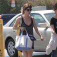 Selma Blair fait ses courses à Studio City, le 7 juillet 2013.