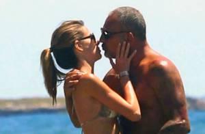 Christian Audigier : Vacances amoureuses avec sa belle Nathalie à Ibiza