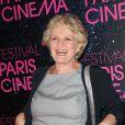 Marie-Christine Barrault à la première du film Le Grand Méchant Loup à l'occasion du festival Paris Cinéma au Gaumont Opéra à Paris, le 9 juillet 2013.