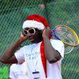 Moussier Tombola au tournoi de tennis de l'association Enfant star et match à Juan les Pins, le 9 juillet 2013.